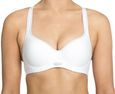 Triumph Women's Triaction Racerback Sports Bra - White