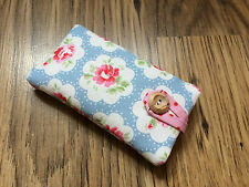 * iPhone 6s / 6s Plus Fabric Padded Case Made With Cath Kidston Blue Provence *
