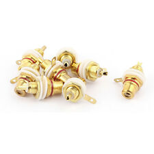 Audio Speaker Amplifier Terminal Binding Post Socket Adapter Connector 8pcs