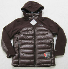 COLUMBIA MENS M L XL  HEATZONE 1000 TURBODOWN OMNI HEAT INSULATED DOWN JACKET