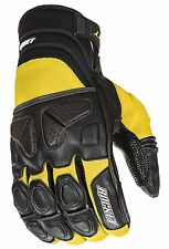 Joe Rocket Men's Yellow / Black Atomic X Motorcycle Glove