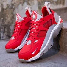 Nike Air Trainer Huarache Low 749447 600 Red/White/silver  Men's Athletic Shoes