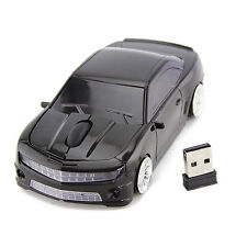 2.4Ghz Chevrolet Car Wireless Mouse Optical USB Game Mice for PC Laptop Mac US