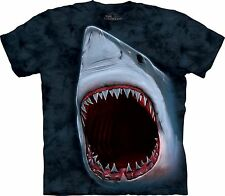 Shark Bite Aquatics T Shirt Adult Unisex The Mountain