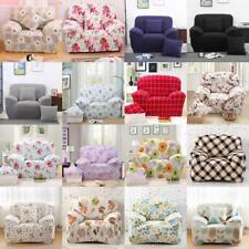 1-Seater Sofa Slipcover Stretch Protector Armchair Couch Cover Washable Assorted