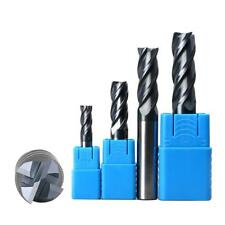 MagiDeal 4 Flute Cutter End Mill Milling Speed Steel Router Bit Mill bits M4-M12