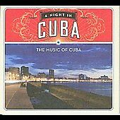 Night in Cuba 2008 by VARIOUS ARTISTS ExLibrary (Disc Only)