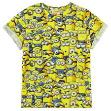BOYS KIDS CHILDRENS DESPICABLE ME MINIONS SHORT SLEEVE T-SHIRT SHIRT TOP