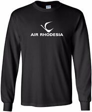 Air Rhodesia Vintage Logo Rhodesian Airline Long-Sleeve T-Shirt