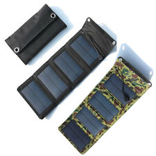 7W Portable Camping Folding Solar Panel Power Battery Charger For Mobile Phone