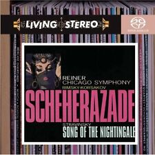 Rimsky-Korsakov: Scheherazade / Stravinsky: Song of the Nightingale SACD NEW