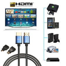 Premium HDMI to HDMI High Speed 1080P LCD HDTV Video Cable 3D+Mini HDMI Adapter