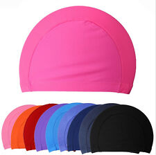 2015 New Children kids Unisex Nylon Swimming Cap Swimming Hat Elasticity 0y