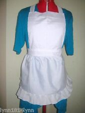 KIDS ALICE IN WONDERLAND FANCY DRESS COSTUME APRON Up to 12 yrs old