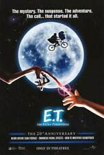 E.T. The Extra Terrestrial 20th Anniversary Orig Movie Poster 27x40 Double Sided