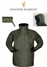 HUnters Element Ultralite Ripstop rain Jacket in Frost Green/packable/ hood