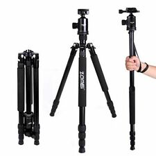 ZOMEI Z818 Tripod Monopod 168.5cm Height Max Load 18kg With Ball Head and Quick