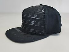 BNWT Crooks and Castles Woven Multi-Chain Snapback- Black - SALE NOW ONLY £19.99