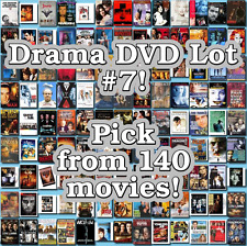 Drama DVD Lot #7: 140 Movies to Pick From! Buy Multiple And Save!