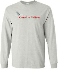 Canadian Airlines Vintage Logo Canada Airline Long-Sleeve T-Shirt
