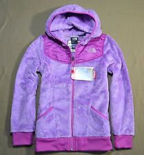 NWT GIRLS THE NORTH FACE LUPINE PURPLE OSO HOODIE FULL ZIP JACKET SZ XS-L