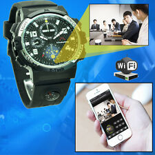 Wifi Watch P2P Camera Video Recording with Android & ios APP Camera Smart watch