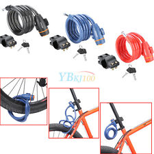 SAHOO 1.2M Anti Theft Bike Security Lock Bicycle Cycling Cable Chain Lock  JS