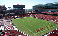 2 Tickets San Francisco 49ers vs Los Angeles Chargers NFL Preseason 2nd Row