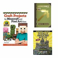 Minecraft Books Guides, Crafts & More 3 Titles to Choose From!