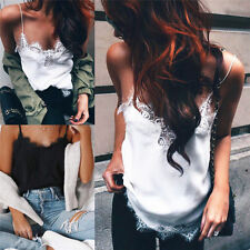 Pop Women Lady Summer Sleeveless T-Shirt Tank Tops Cami Vest Crop Top Blouse