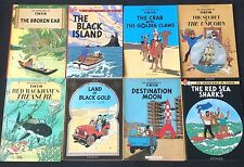 Methuen 1970's 1st Edition paperback Tintin Books - BUY INDIVIDUALLY - Herge EO
