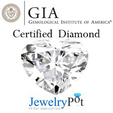2.1CT H SI1 Heart GIA Certified & Natural Loose Diamond Stone (5151430173)