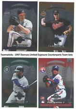 1997 Donruss Limited Exposure Counterparts Baseball Set ** Pick Your Team **