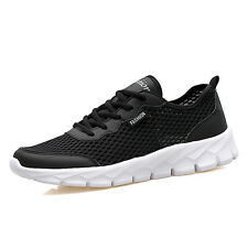 Mens Fashion Big Size Light Running Shoes Breathable Non Slip Mesh Sports Shoes