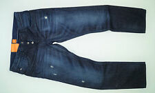 NEW - Hugo Boss - Orange 24 Milano - Dark Denim - Modern Straight Men's Jeans