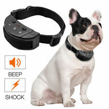 Rechargeable Electric Shock Dog E-Collar Remote Control Training Anti-Bark Kit