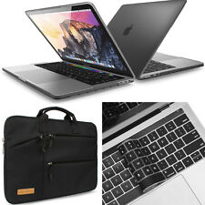 """[3-IN-1]Laptop Sleeve Bag Rubberized Case For Macbook Pro Air Retina 13""""13.3""""15"""""""