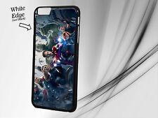 Marvel Avengers Phone Case Cover - Captain America Hulk - iPhone/Samsung Fit