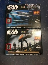 Revell Star Wars Rogue One, Rebel U-Wing Fighter & Imperial AT-ACT Snap Tite NEW