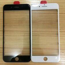 Front Outer Screen Glass Lens + Frame Bezel Replacement +OCA For iPhone 7/7 Plus