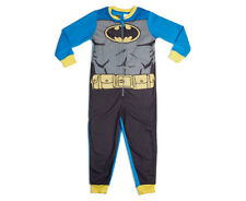 Batman Kids' Fleece Onesie - Blue/Black