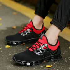 Mens Fashion Trail Walking Running Shoes Shock Absorb Casual Outdoor Blade Shoes