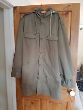 GERMAN DUTCH MILITARY ARMY PARKA WITH FUR LINER OLIVE - VARIOUS SIZES