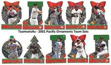 2001 Pacific Ornaments Baseball Set ** Pick Your Team **