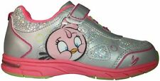 Angry Birds Girls Sneakers, Velcro, Light up