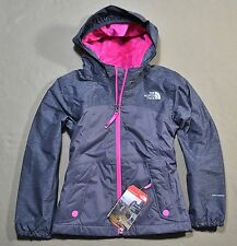 NWT THE NORTH FACE GRAPHITE GRAY WARM STORM JACKET FULL ZIP HOODIE SZ XXS XS