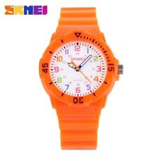Skmei Children Watch Fashion Casual Watches Quartz Wristwatches Waterproof Jelly