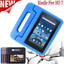 For Amazon Kindle Fire HD 7 2015 Kids Shockproof Case EVA Handle Stand Cover UK