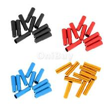 10Pcs Aluminum Alloy Bicycle Bike Shifter Brake Cable Housing End Caps Cover
