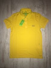 New Men Hugo Boss Green Paule Polo T-Shirt Yellow Size S, M, L, XL, 2XL